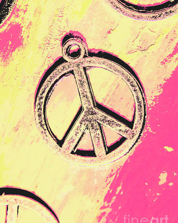 Pop Art In Peace Poster By Jorgo Photography Wall Art Gallery