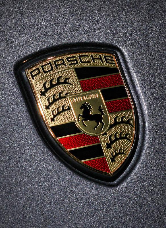 Porsche Poster featuring the photograph Porsche by Gordon Dean II