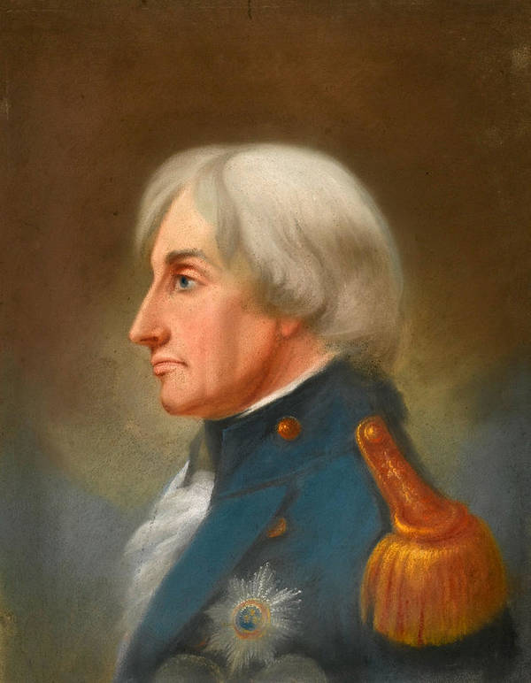 John Whichelo Poster featuring the painting Portrait Of Admiral Lord Nelson by John Whichelo