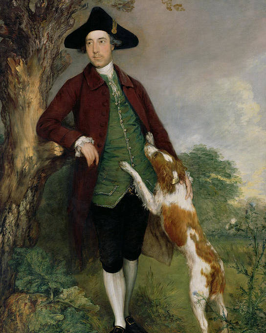 Portrait Poster featuring the painting Portrait Of George Venables Vernon by Thomas Gainsborough