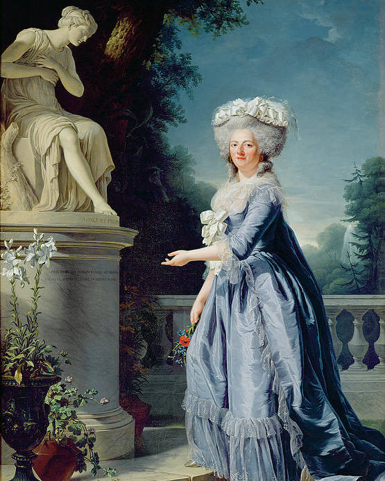 Portrait Poster featuring the painting Portrait Of Marie-louise Victoire De France by Adelaide Labille-Guiard