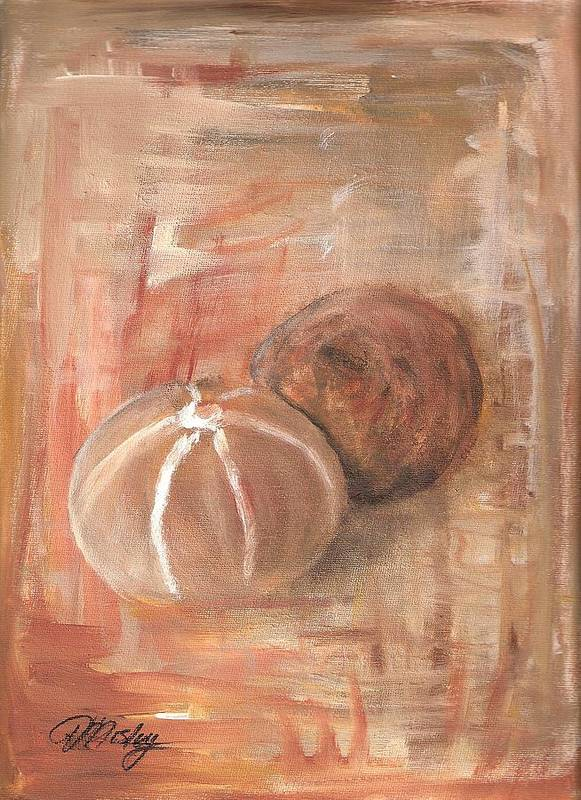 Still Life Poster featuring the painting Potpourri Three by Vivian Mosley