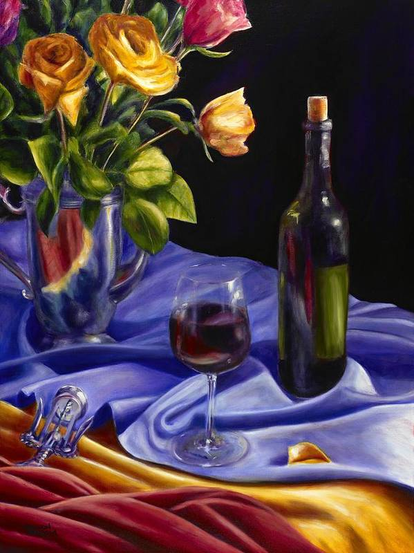 Still Life Poster featuring the painting Private Label by Shannon Grissom