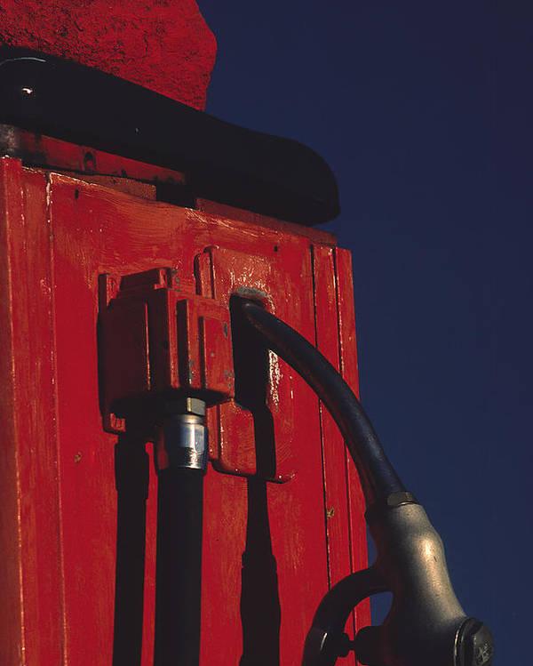 Gas Pump Poster featuring the photograph Pump by Art Ferrier