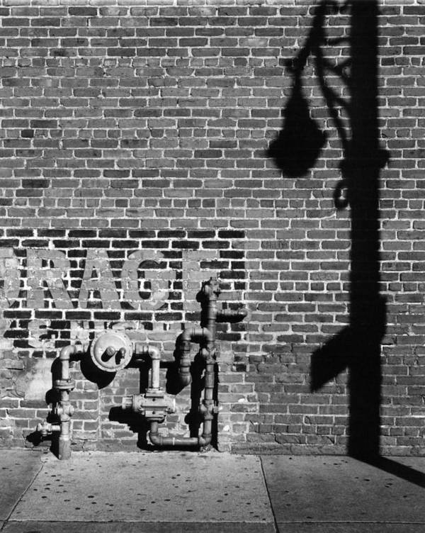 Urban Poster featuring the photograph Rage And Shadow by Jim Furrer