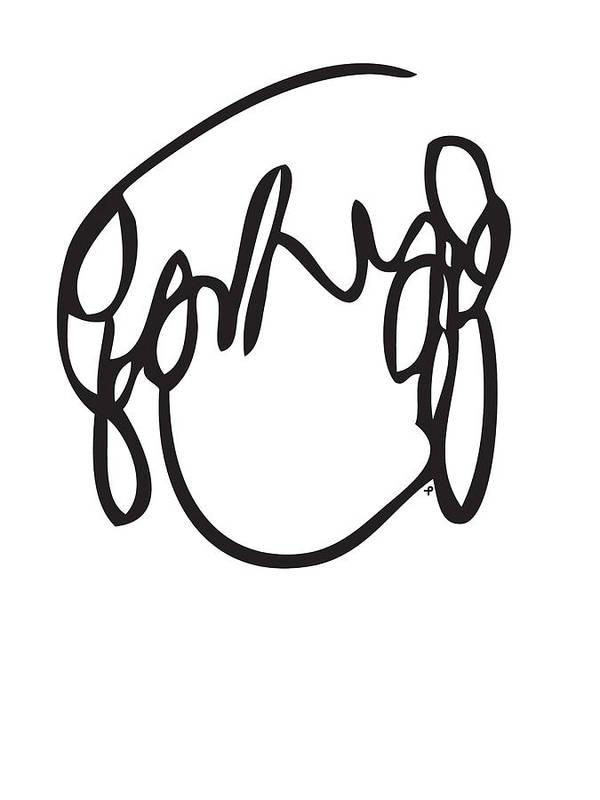 Ramona Flowers Poster featuring the drawing Ramona Flowers Black - Scott Pilgrim Vs The World by Paul Telling