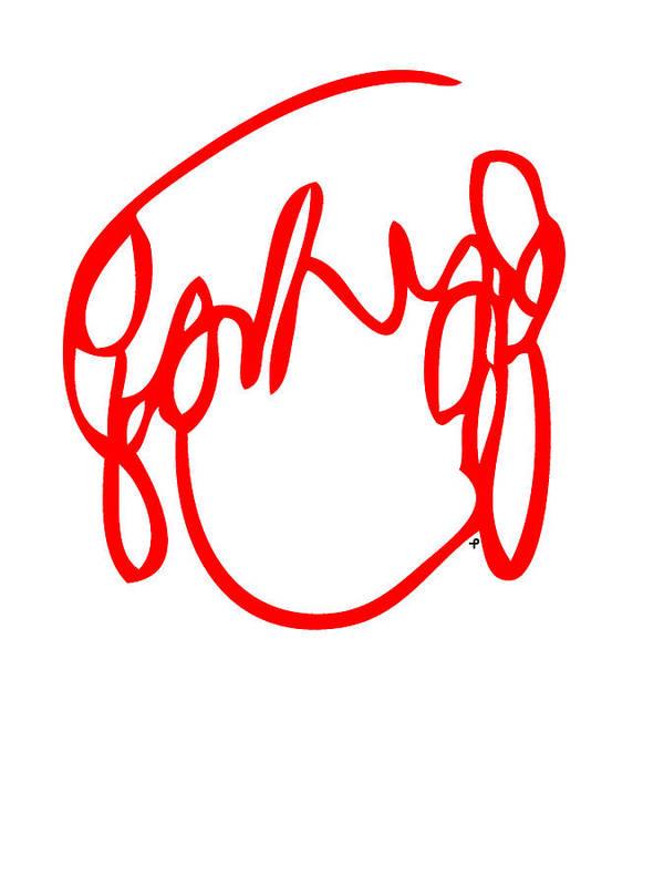 Ramona Flowers Poster featuring the digital art Ramona Flowers Red - Scott Pilgrim Vs The World by Paul Telling