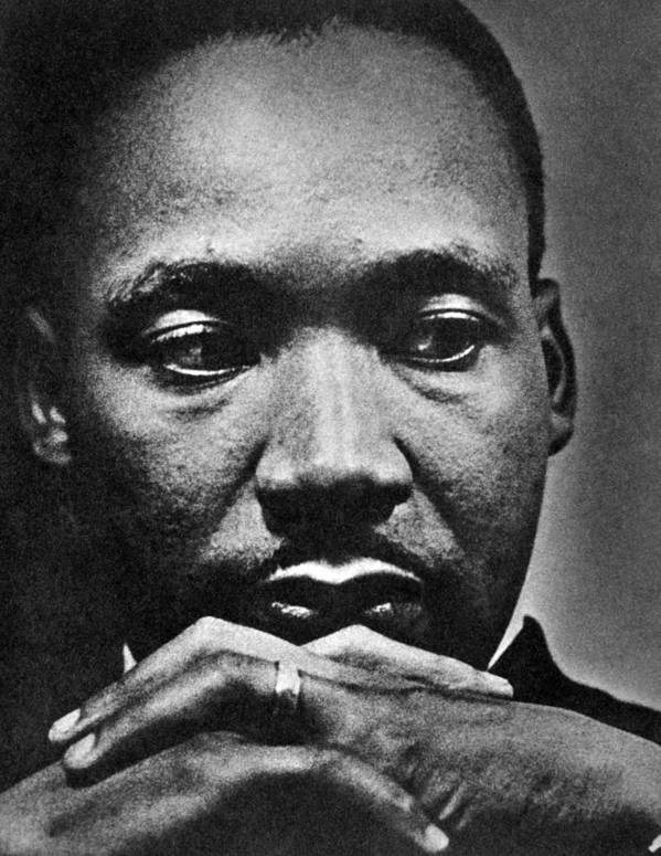 African American Poster featuring the photograph Rev. Martin Luther King Jr. 1929-1968 by Everett