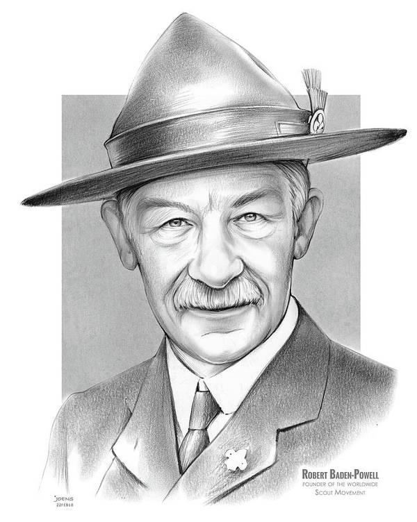 Robert Baden Powell Poster