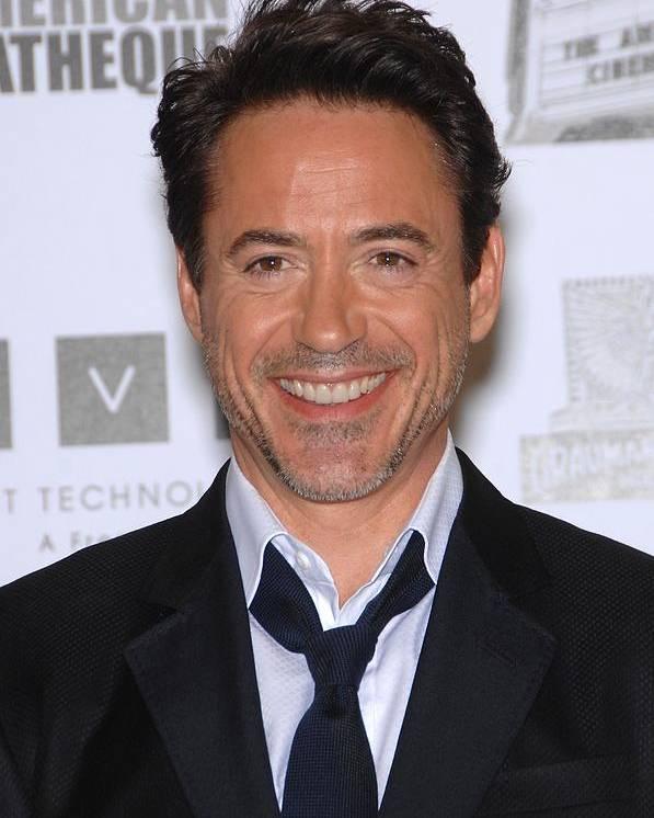 Robert Downey Jr. Poster featuring the photograph Robert Downey Jr. In Attendance by Everett