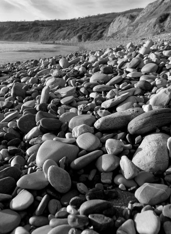 Rocks Poster featuring the photograph Rocky Beach by Karey and David Photography