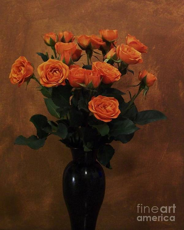 Roses Poster featuring the photograph Roses For My Sweetheart by Marsha Heiken