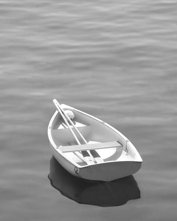 Row Boat Poster featuring the photograph Row Boat by Mike McGlothlen