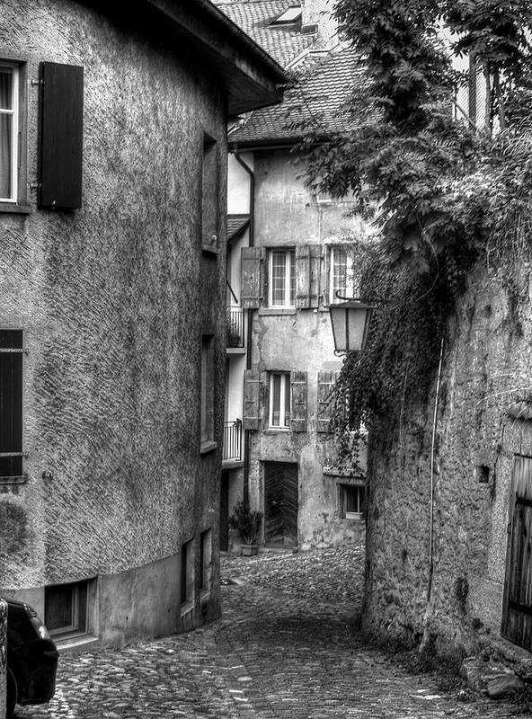 Buildings Poster featuring the photograph Rue Des Moulins by Tara Schendel