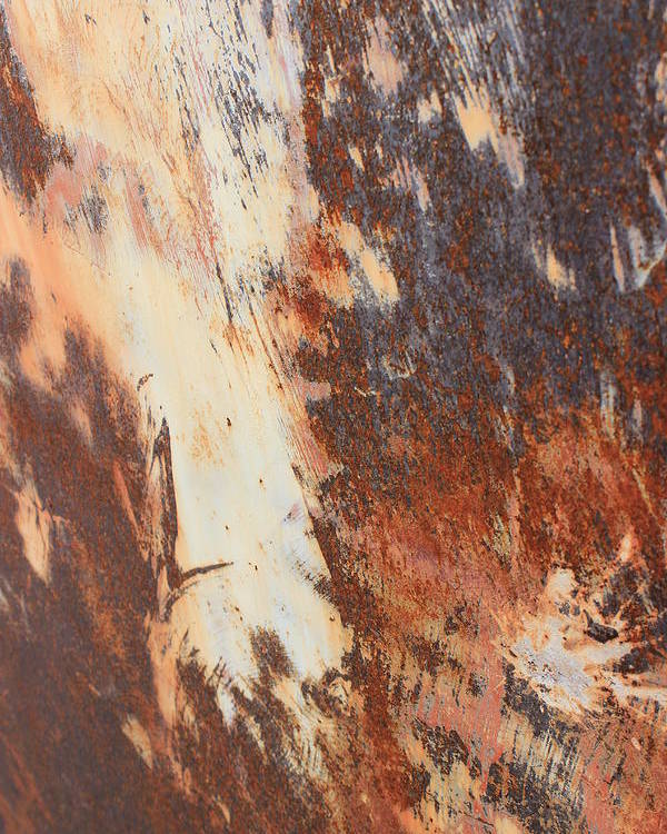 Rust Poster featuring the photograph Rusty Drum #1 by Wade Milne