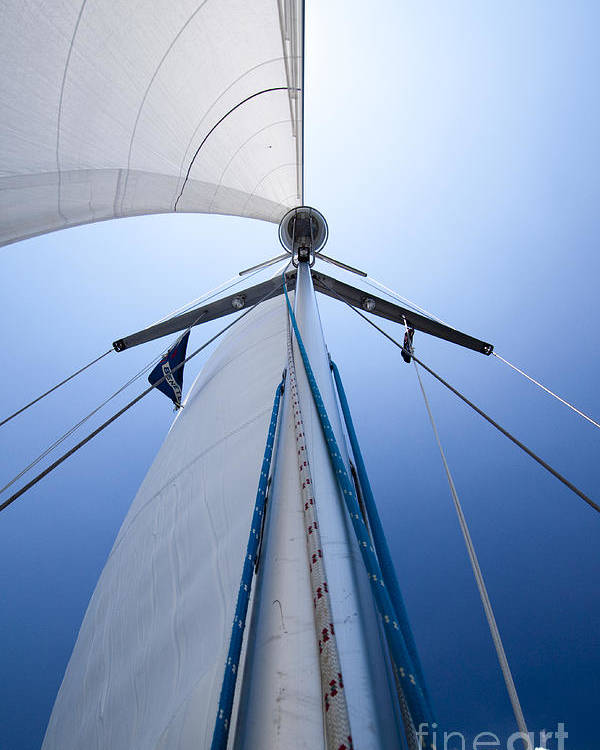 Sailing Poster featuring the photograph Sailing by Dustin K Ryan