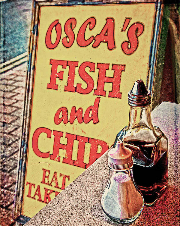 Fish Poster featuring the photograph Salt And Vinegar by Chris Lord
