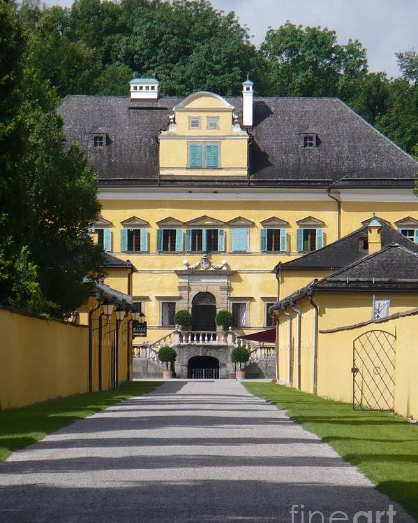 Austria Poster featuring the photograph Salzburg Chateau by Carol Groenen