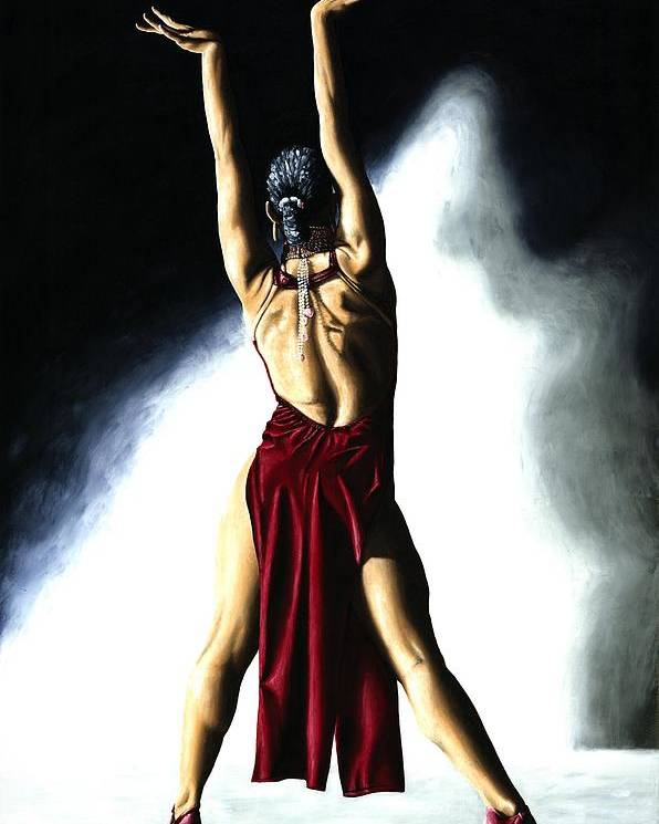 Samba Poster featuring the painting Samba Celebration by Richard Young