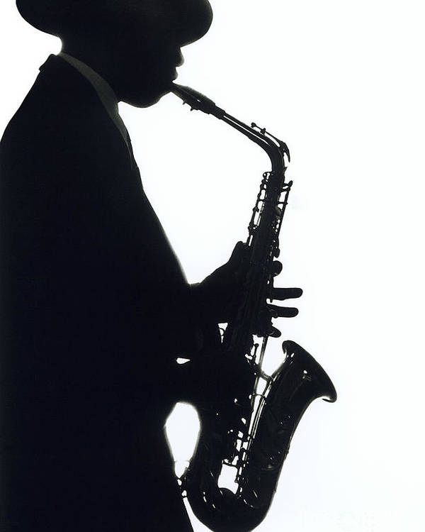Sax Poster featuring the photograph Sax 2 by Tony Cordoza