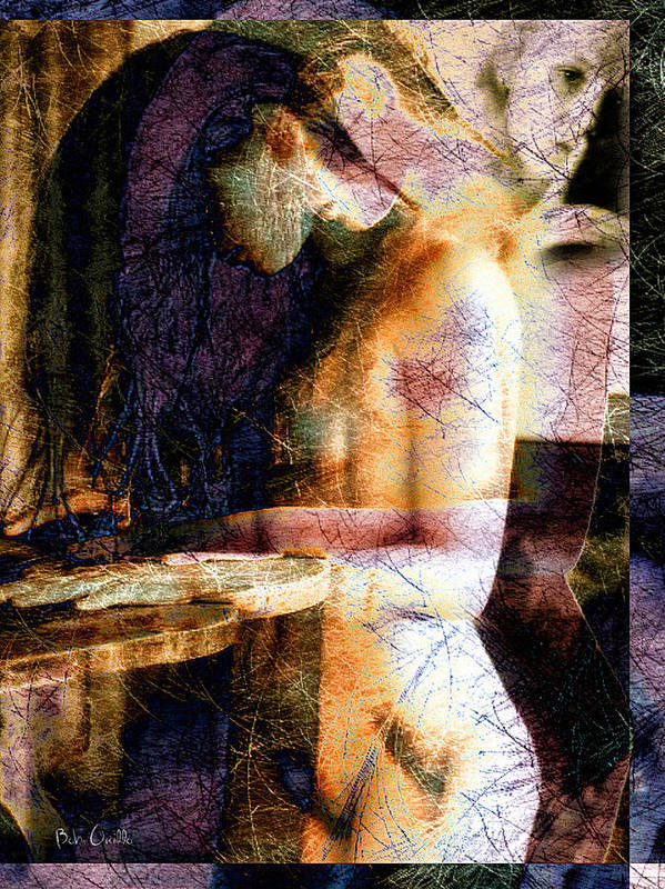 Abstract Poster featuring the photograph Secrets by Bob Orsillo