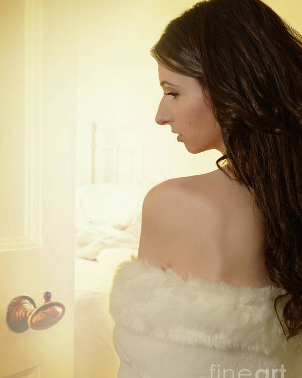 Boudoir Poster featuring the photograph Sensual Woman by Amanda Elwell