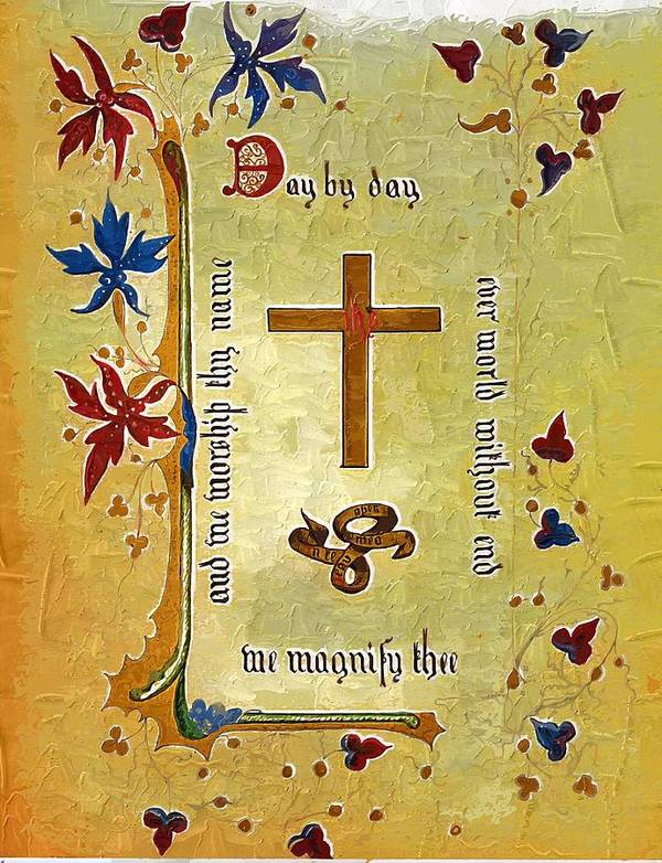 Religion Poster featuring the photograph Sermon4 by Donna Bentley