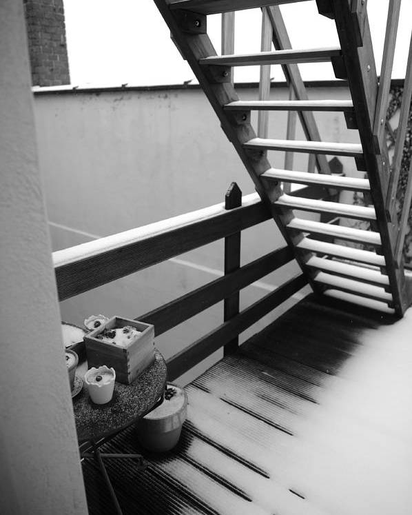 Stairs Poster featuring the photograph Shelter by Jessica Rose