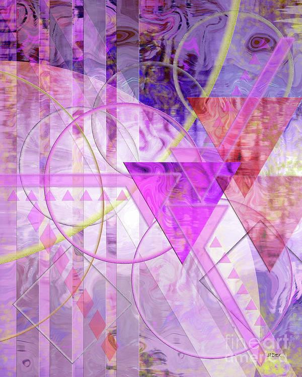 Shibumi Poster featuring the digital art Shibumi Spirit by John Beck