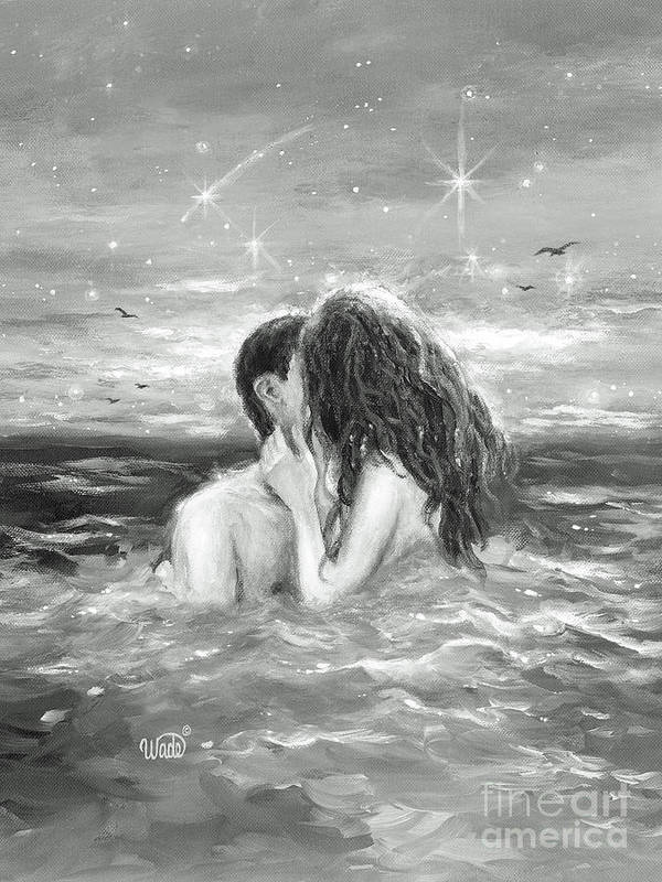 Skinny dipping couple