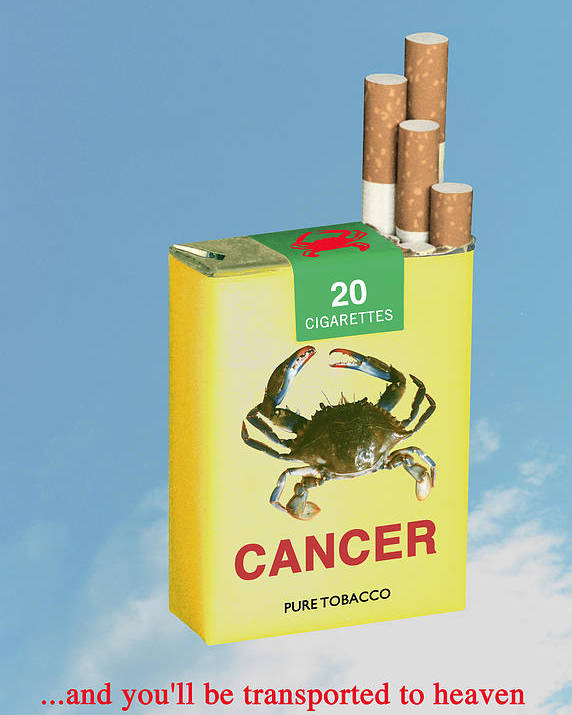 Anti-smoking Posters Poster featuring the digital art Smoke It... by Jose Gomis