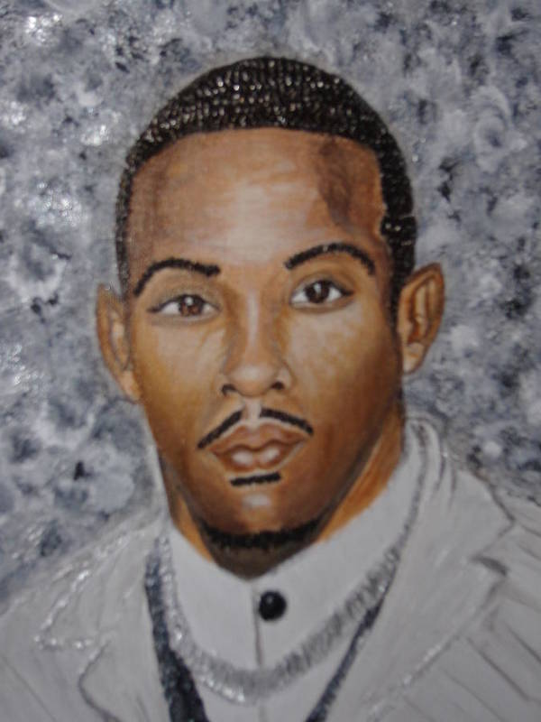 Acrylic Poster featuring the painting So Fresh So Clean by Keenya Woods