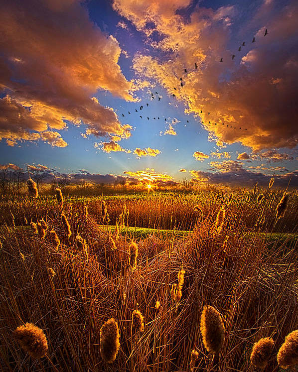 Clouds Poster featuring the photograph So Long I Can't Remember by Phil Koch