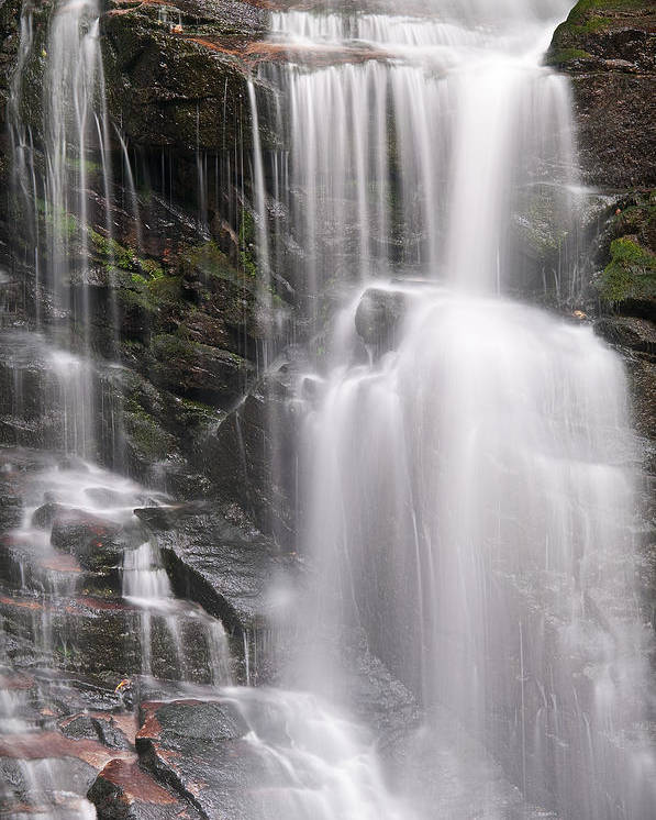 Soco Poster featuring the photograph Soco Falls North Carolina by Steve Gadomski