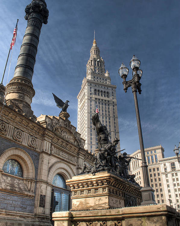 2x3 Poster featuring the photograph Soldiers' And Sailors' Monument by At Lands End Photography