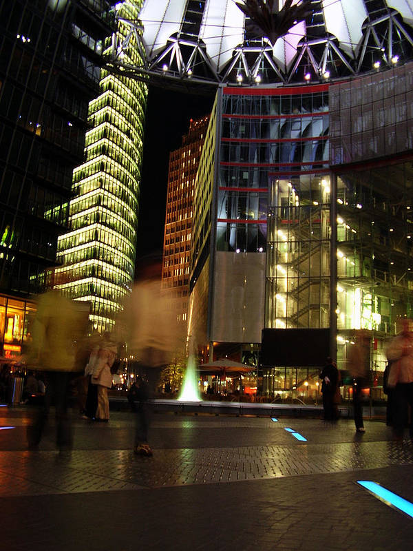 Sony Center Poster featuring the photograph Sony Center by Flavia Westerwelle