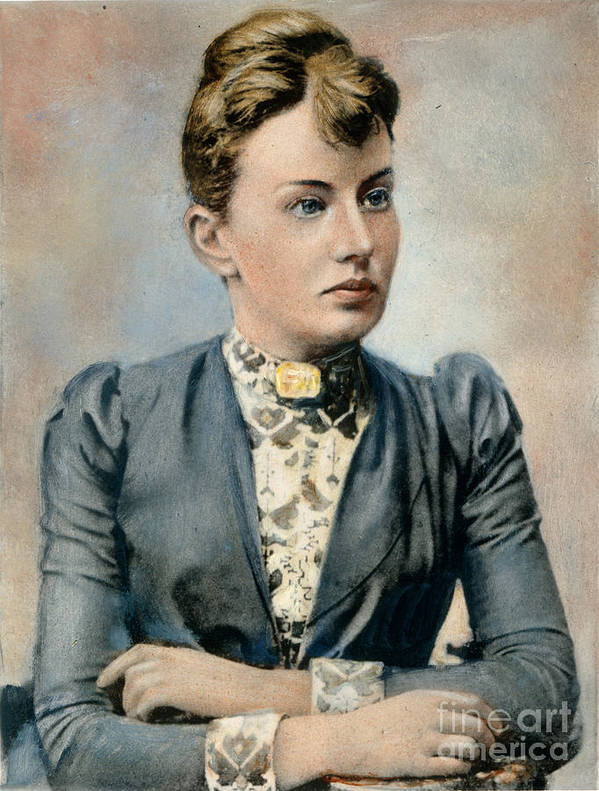 19th Century Poster featuring the photograph Sonya Kovalevsky (1850-1891) by Granger