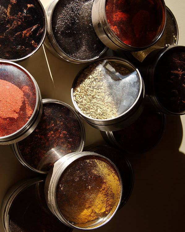 Photography Poster featuring the photograph Spices by Heather S Huston