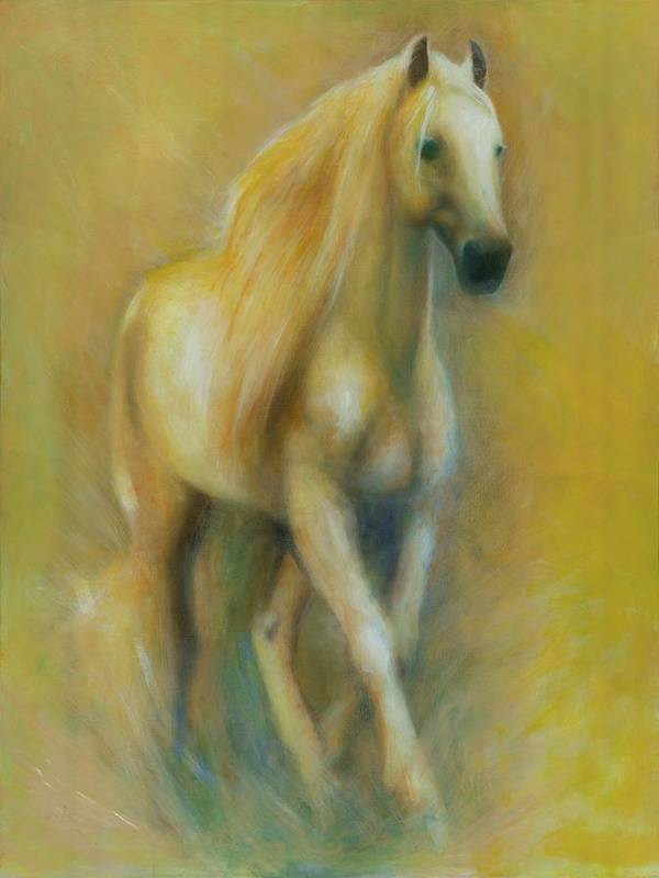 Horse Poster featuring the painting Spirit by Elizabeth Silk