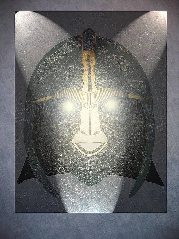 Buliwyf Poster featuring the digital art Spirit Of Buliwyf by Ingrid Stiehler