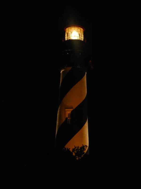 Lighthouse Poster featuring the photograph St. Augustine Light by Mike Niday