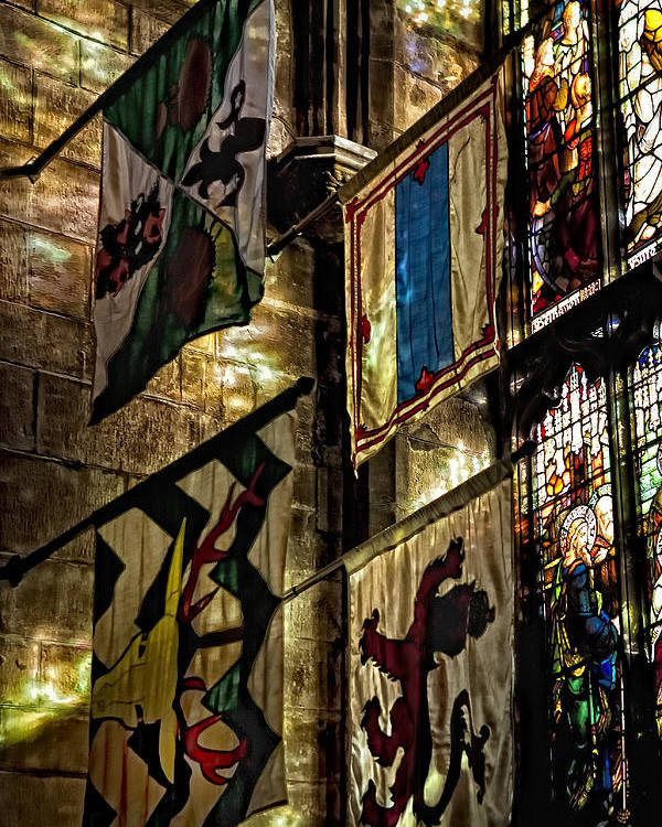 St. Giles Cathedral Poster featuring the photograph St. Giles Cathedral Edinburgh by Jim Dohms