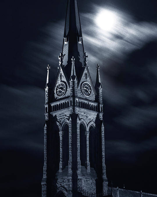 Church Poster featuring the photograph St Nicholas Church Wilkes Barre Pennsylvania by Arthur Miller