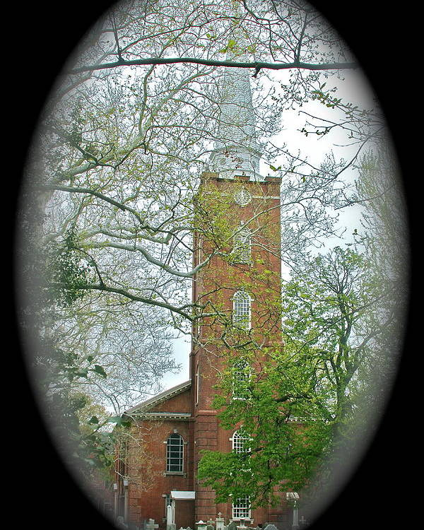 Church Poster featuring the photograph Steeple by Rick Monyahan