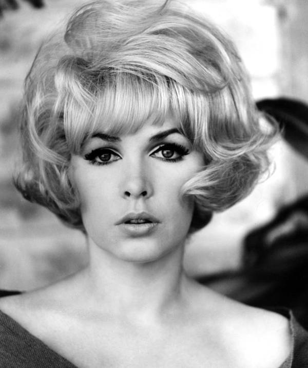 1960s Hairstyles Poster featuring the photograph Stella Stevens, 1967 by Everett