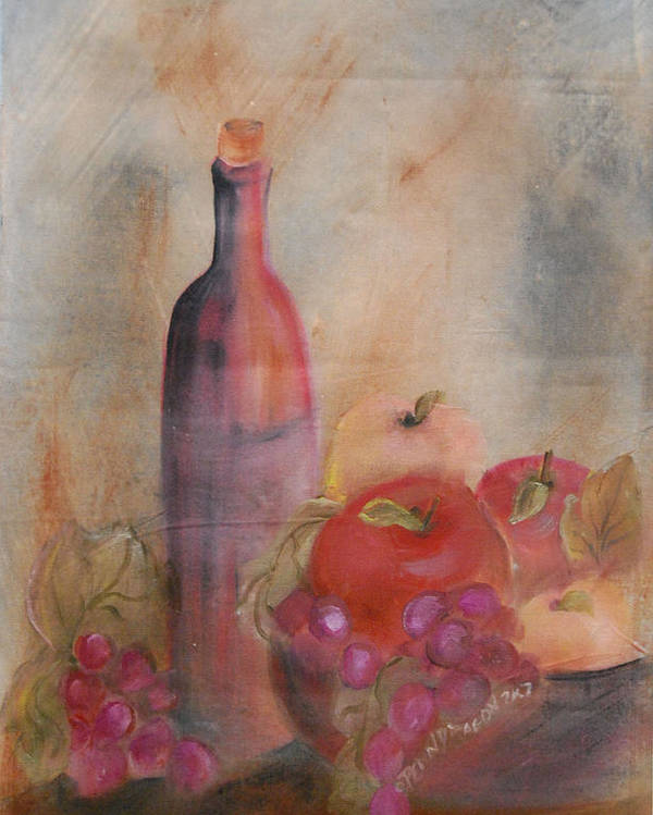 Still Life Poster featuring the painting Still Life 1 by Amy Stewart Hale