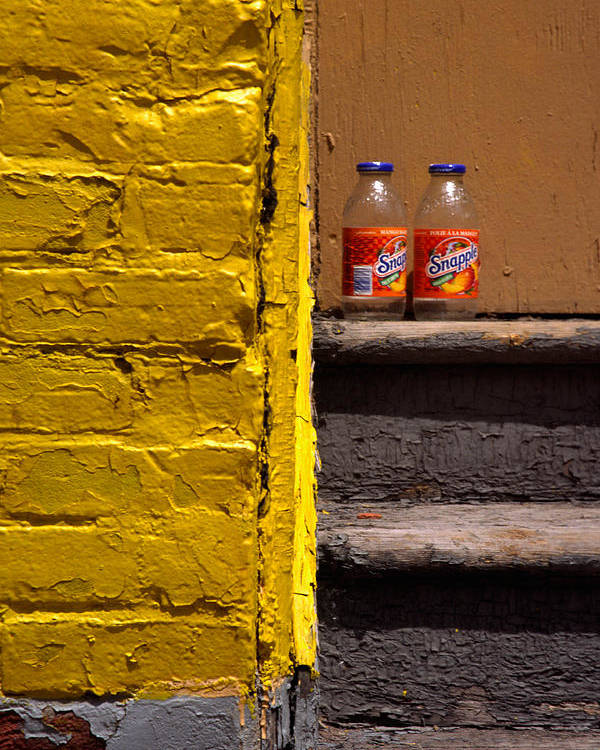 Montreal Poster featuring the photograph Still Life With Snapple by Art Ferrier