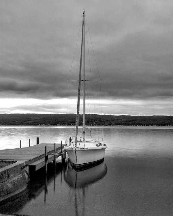 Sailboat Poster featuring the photograph Still Waters by Steven Ainsworth