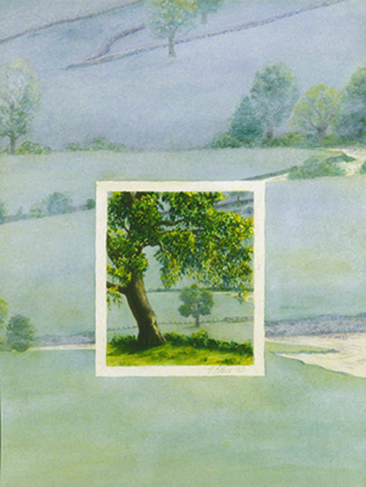 Summer Poster featuring the painting Summer by Nancy Ethiel