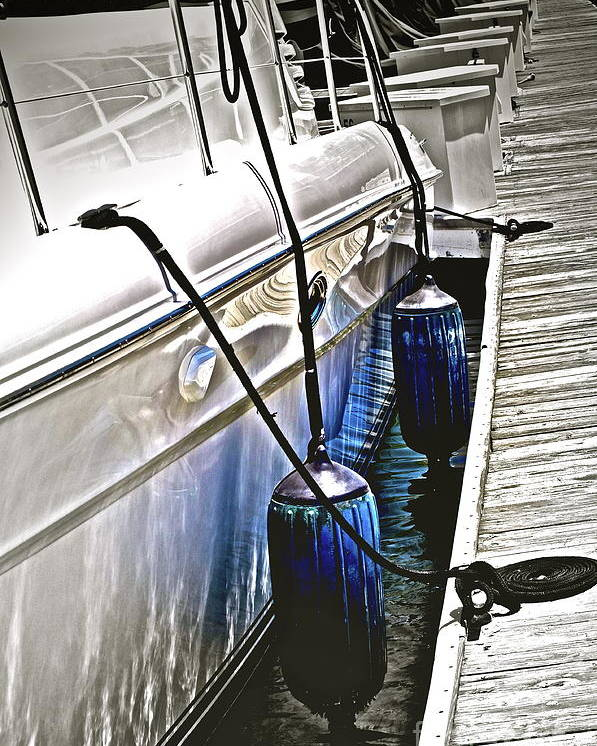 Boat Poster featuring the photograph Sure-thing Boat by Gwyn Newcombe